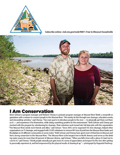 """Feb 2015 """"I Am Conservation"""" - Missouri Conservationist Magazine 