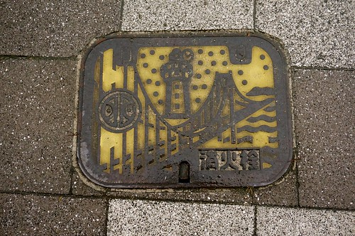 Manhole in Akashi, Hyogo | by Curry puff, lah!