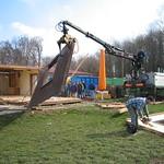 Abbruch altes Clubhaus (27.03.2004)