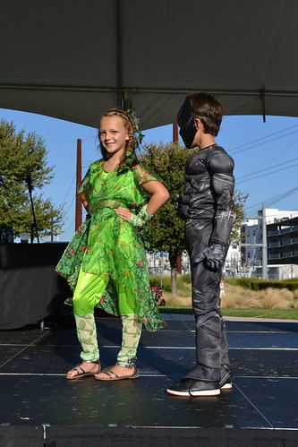 Costume Contest Winner - Traditional Super Girl: Poison Ivy - Taylor Rivera | by CASA of Travis County