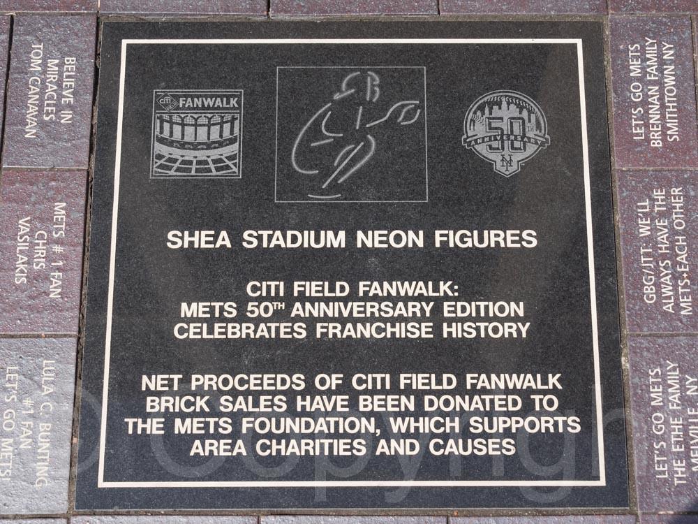 New York Mets Shea Stadium Brick Plaque Fan Apparel & Souvenirs
