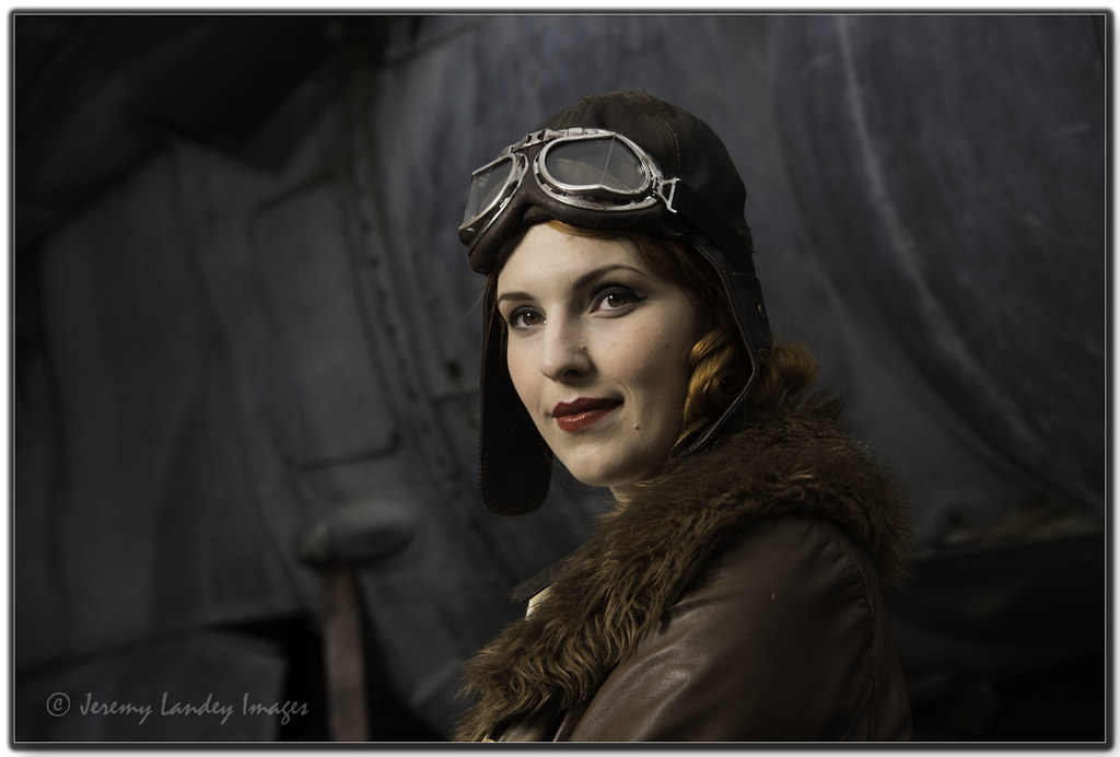 Aviator Photo Of The Lovely Kerry As An Aviator On A