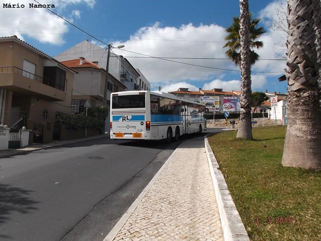 RL 701 a sair da Rua Valeflores ( Via - Rara )
