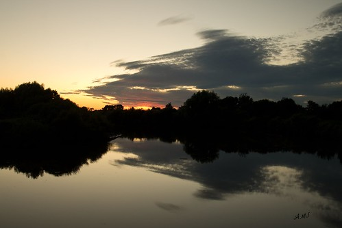 ams mortoncorner gainsborough lincolnshire rivertrent sunset