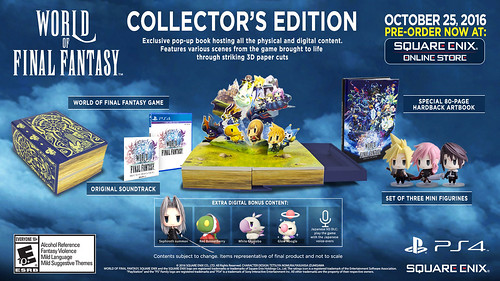 World of Final Fantasy, PS4 | by PlayStation.Blog