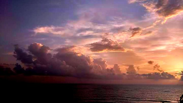 Turbulent Clouds...Goa
