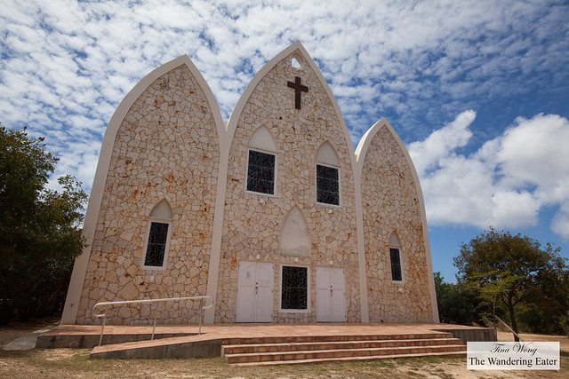 First and only Catholic Church in Anguilla