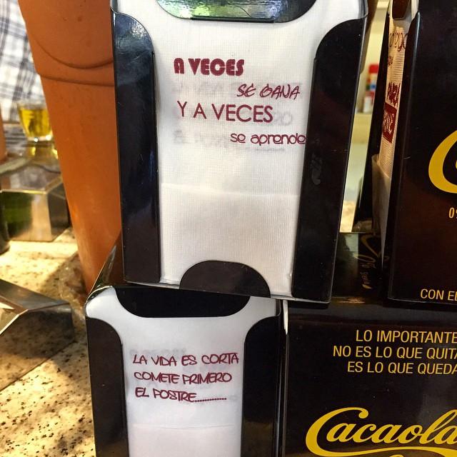 Mensajes Inesperados Frases Tips Optimismo Servilleta