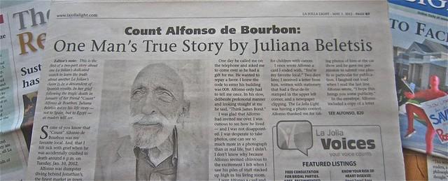 Count Alfonso de Bourbon