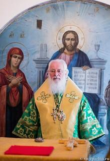 Литургия в храме Сергия Радонежского 170