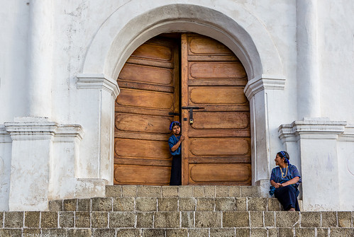 Church steps in San Antonio Palopó, Guatemala | by Phil Marion (173 million views - THANKS)