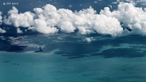 island islands flight aerialview lagoon aerial geology unitedairlines windowseat thebahamas carbonateplatform zeesstof acklinscay jamaicacay geologyfromtheair reservebay houstontopuertorico
