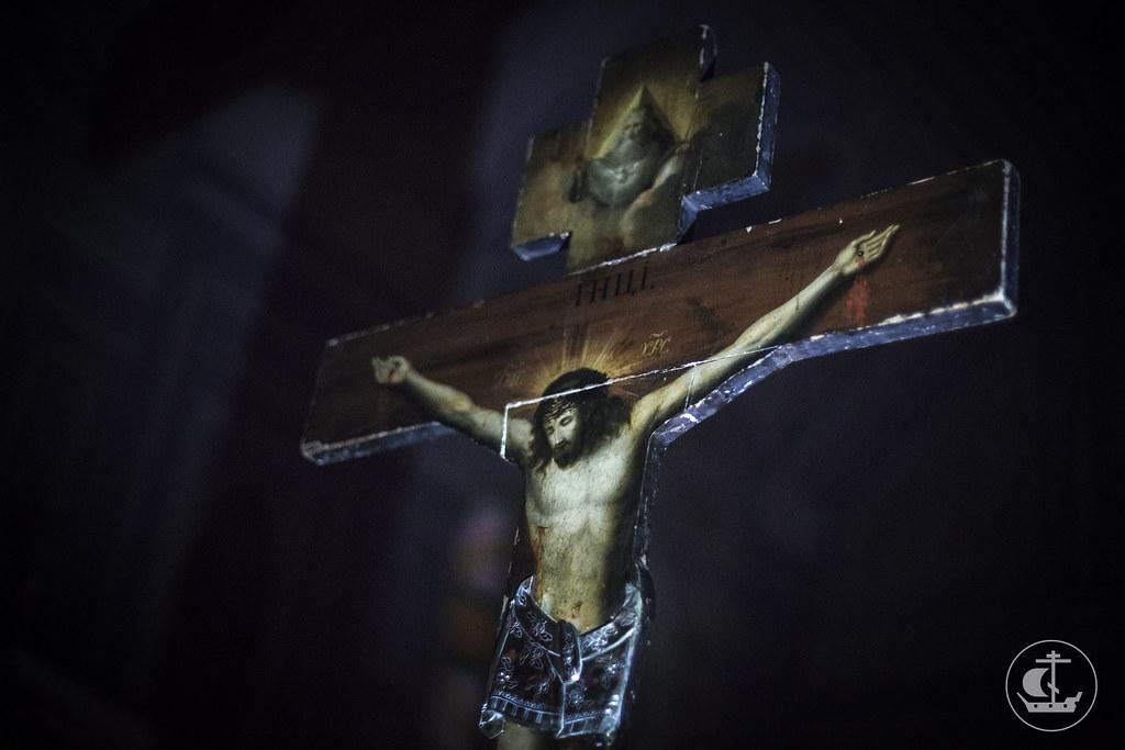 9 апреля 2015, Утреня Великого Пятка / 9 April 2015, Matins of Holy Friday