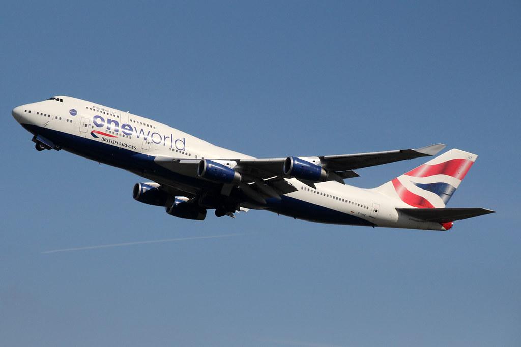 British Airways G-CIVZ