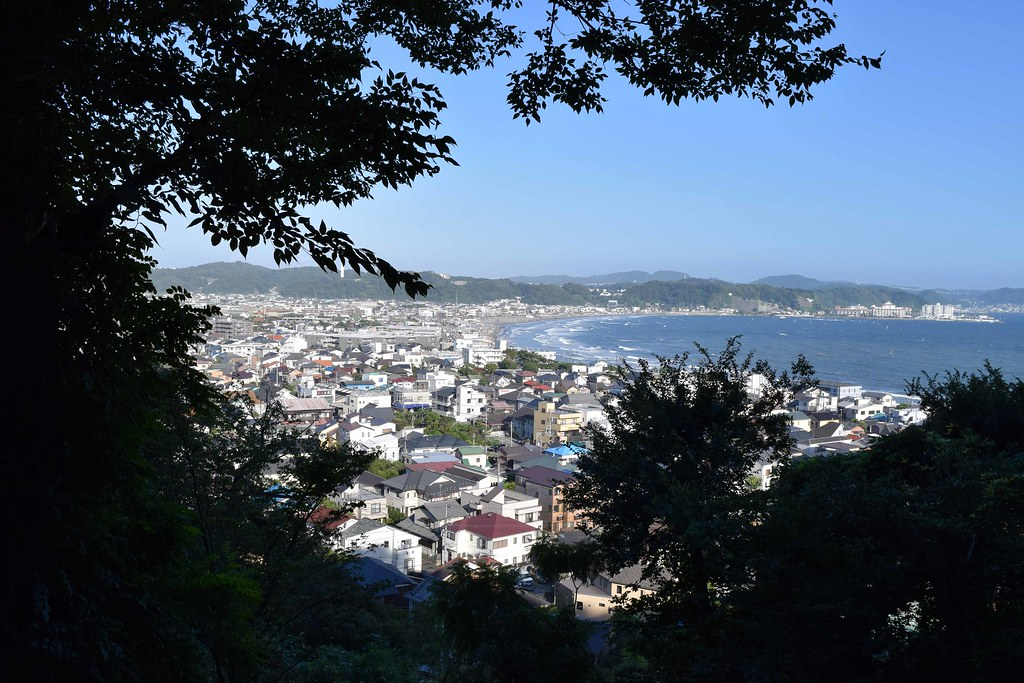 View from Hasedera Temple