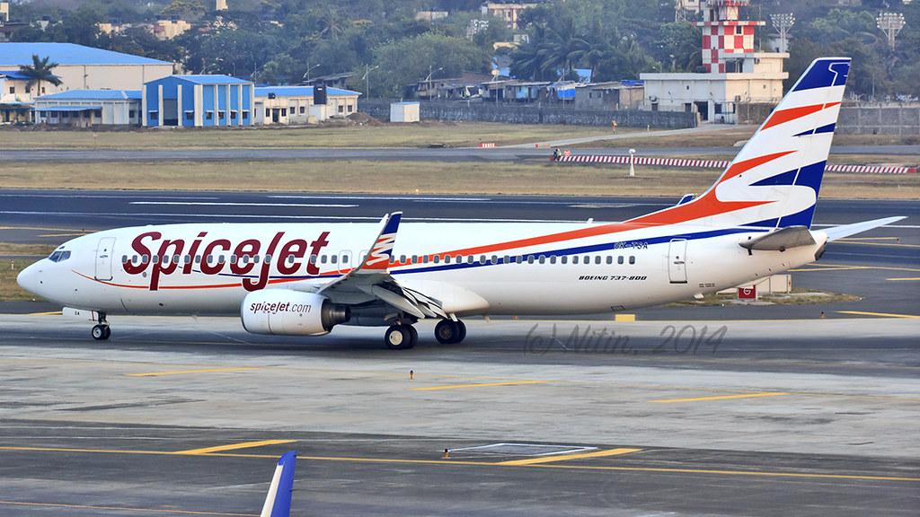 SpiceJet (Smart Wings) B737-800 OK-TSA   Damp-leased form Sm…   Flickr
