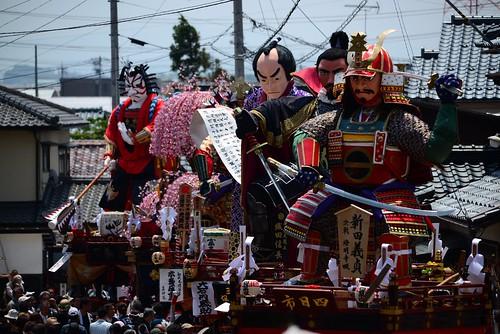 三国神社前に集結した山車@三國祭り。 | by 哲翁