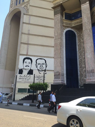 Journalists syndicate in #Cairo 's #Graffiti | by Kodak Agfa
