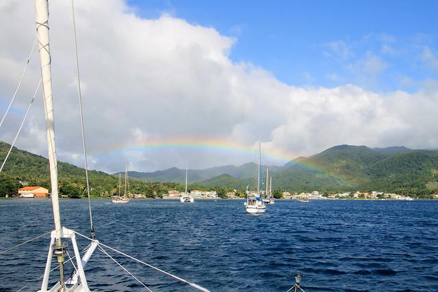 Rainbow, Prince Rupert Bay, Dominica