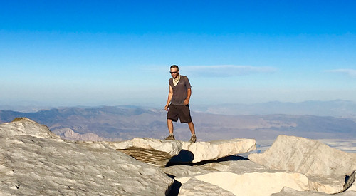 Me on Mt Whitney   by wavesounds