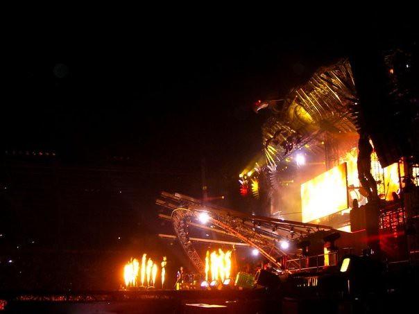 Johnny Hallyday - Tour 66 - Stade des Alpes, Grenoble (2009)