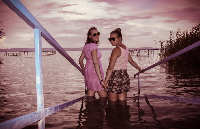 Girls in Balaton