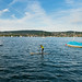 SUP on the Lake of Zurich