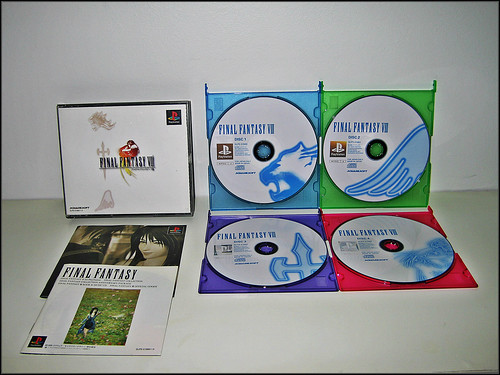 Final Fantasy VIII (PS1 - JAP - Complet) | by reimmstein