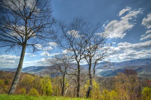 nature landscape nc spring northcarolina blueridgeparkway wnc brpw haywoodcounty