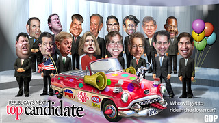 Republicans Next Top Candidates 2016 | by DonkeyHotey
