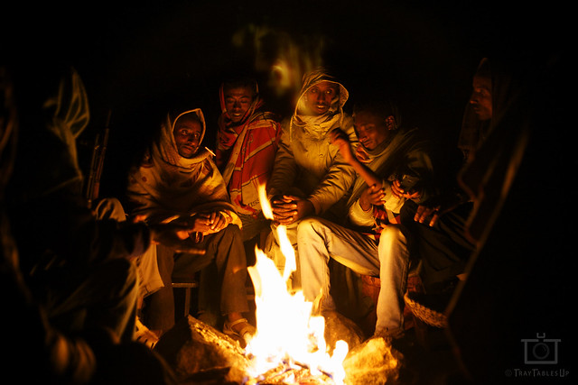 Sharing Bob Marley in the Simien Mountains