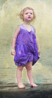 The girl in the purple dress   by ronphoto2009