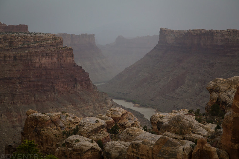 Colorado River Rain