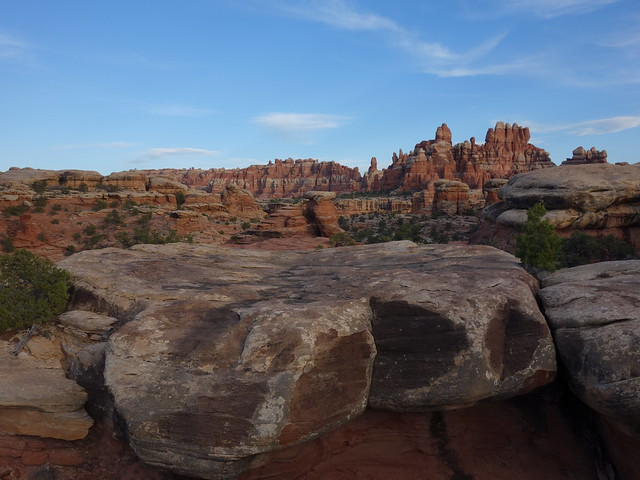 above camp; Canyonlands NP, Needles District