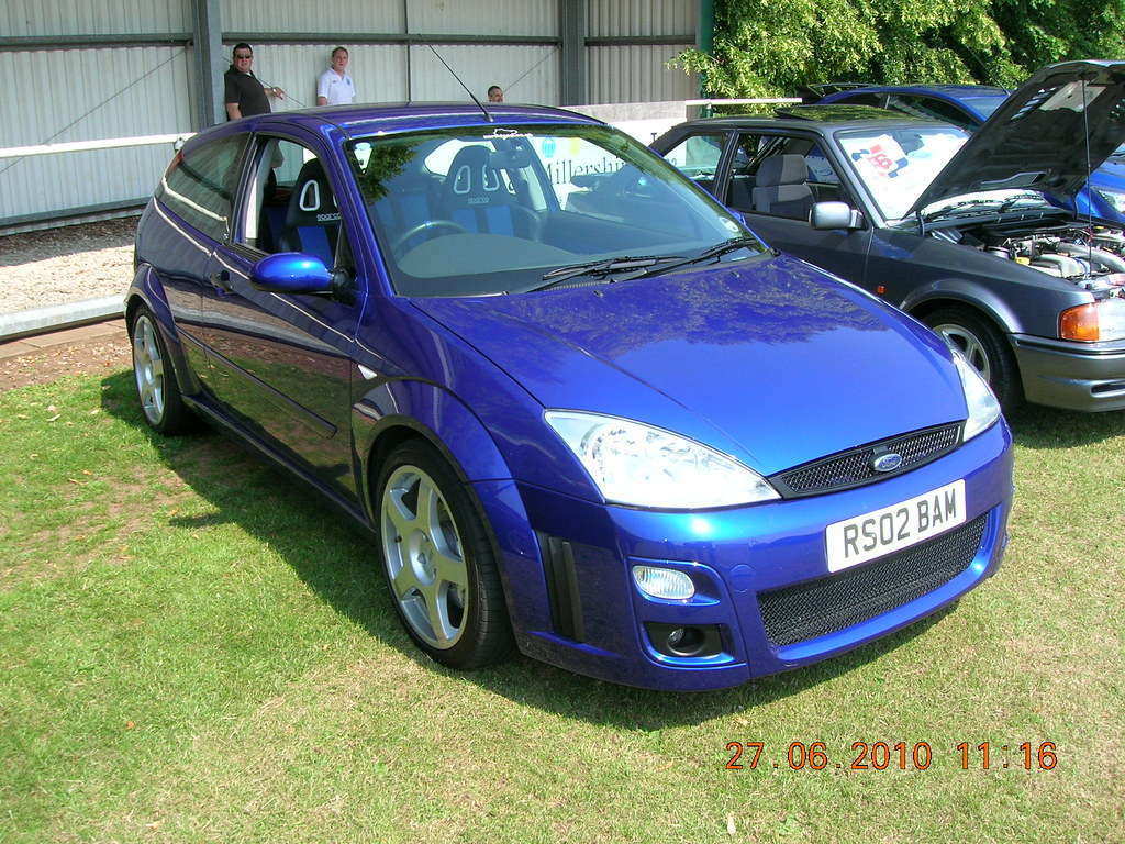 Ford Focus Mk1 Rs Rs02bam Plate Now On A 2016 Focus Flickr