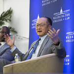 Joshua Johnson and Jim Yong Kim