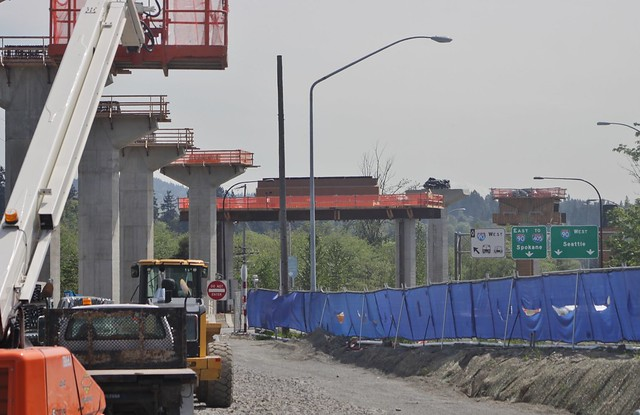 South Bellevue station, May 2018