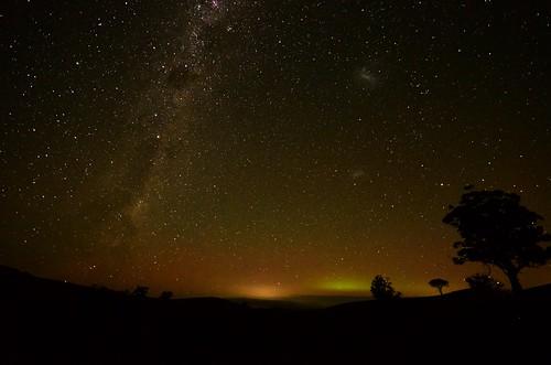 sky silhouette night rural stars treesilhouette skies glow farm south australia victoria timeexposure vic nightsky starry seaview gippsland milkyway sigma1020mm strzeleckiranges southgippsland westgippsland strzeleckis phunnyfotos auroraspotting