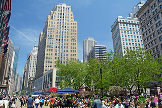 Picture Of Herald Square In New York City. Photo Taken Friday May 8, 2015
