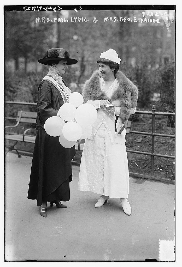 Mrs. Phil. Lydig & Mrs. Geo. Ethridge (LOC)