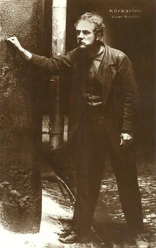 Victor Sjöström in Körkarlen - The Phantom Carriage