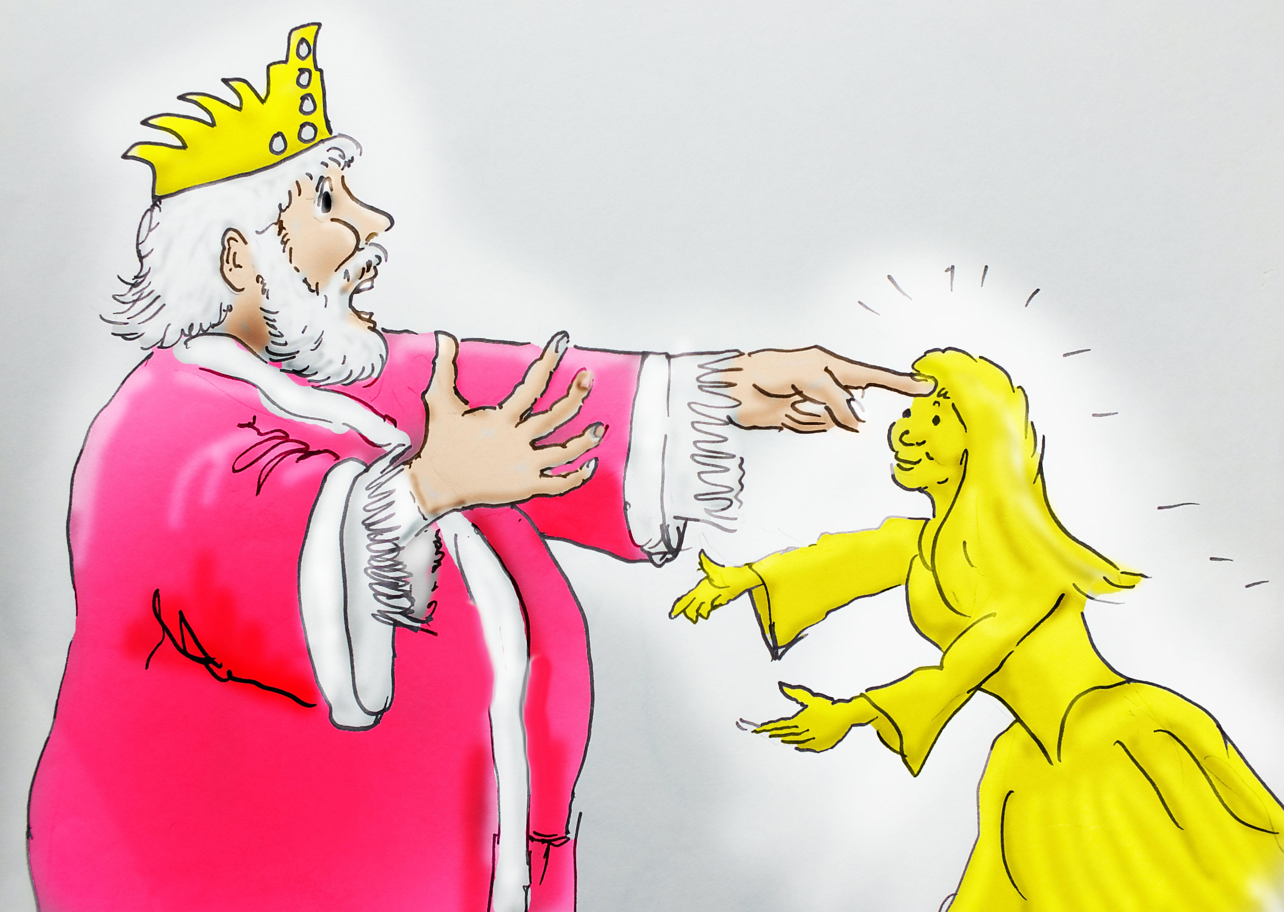 ミダス王 黄金の手