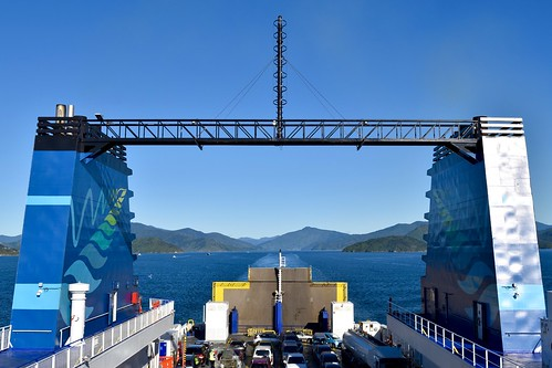Leaving South Island on the Interislander | by ndimmock