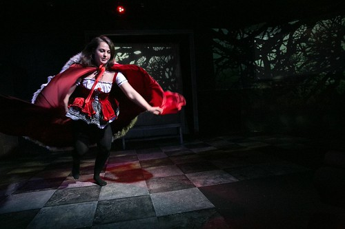 defunkt Theatre, In The Forest She Grew Fangs, Rosemary Ragusa | by drammyawards