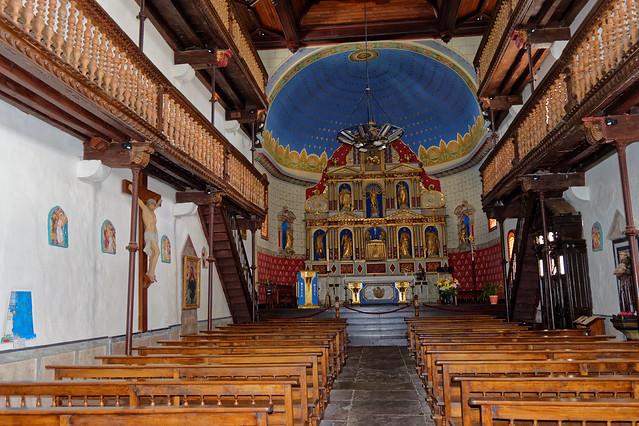 Ainhoa, L'église Notre-Dame-de-l'Assomption XIVème