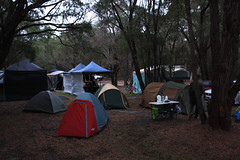 Camping en Denmark, WA, Australia