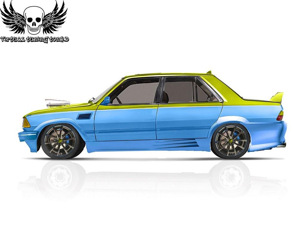 Peugeot 305 Tuning Virtuel Anthony Dethorey Flickr