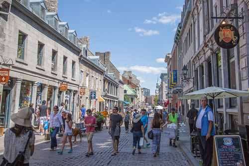 Rue Saint-Paul, Old Montreal | by Tony Webster