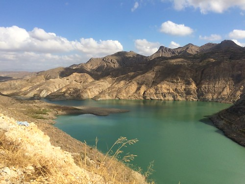 embalse cuevasdelalmanzora pantano espana spain lago lake andalucia water green sky landscape paisaje
