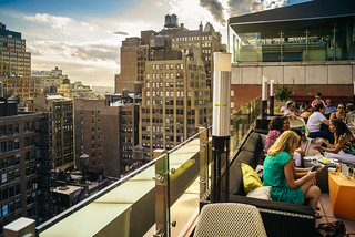 Rooftop bar, Chelsea | by Arutemu